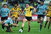 TJ Perenara. Waratahs v Hurricanes. 2012 Super Rugby round 15 match. Allianz Stadium, Sydney Australia on Saturday 2 June 2012. Photo: Clay Cross / photosport.co.nz
