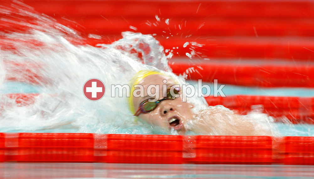 Kylie PALMER of Australia competes in the women's 800m Freestyle heat during day two of the 8th FINA World Swimming Championships (25m) held at Qi Zhong Stadium April 6th, 2006 in Shanghai, China. (Photo by Patrick B. Kraemer / MAGICPBK)