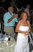 **EXCLUSIVE**.Sean Connery dancing with wife.The Cove Hotel and Cain Night Club Opening.Paradise Island, Bahamas.Friday, May 11, 2007 .Photo By Celebrityvibe.To license this image please call (212) 410 5354; or.Email: celebrityvibe@gmail.com ;