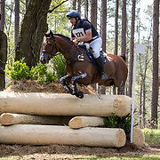Clayton Fredericks (AUS) and FE Ophella at the Red Hills International Horse Trials in Tallahassee, Florida.