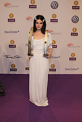 "Lana Del Rey winning 2 prices for Newcomer and best International, German ""Echo"" music award in Messegelaende, Berlin, Germany, 21, March 2013. Photo by Elliott Franks / i-Images..."