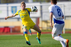 Dario Melnjak of NK Domzale during football match between NK Domzale and NK Celje in Round #20 of Prva liga Telekom Slovenije 2017/18, on April 18, 2018 in Sports Park Domzale, Domzale, Slovenia. Photo by Urban Urbanc / Sportida