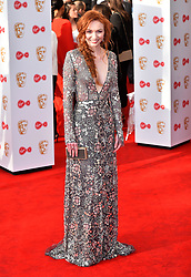 Eleanor Tomlinson arriving for the Virgin TV British Academy Television Awards 2017 held at Festival Hall at Southbank Centre, London. PRESS ASSOCIATION Photo. Picture date: Sunday May 14, 2017. See PA story SHOWBIZ Bafta. Photo credit should read: Matt Crossick/PA Wire