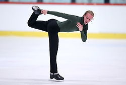 04.12.2015, Dom Sportova, Zagreb, CRO, ISU, Golden Spin of Zagreb, freies Programm, Herren, im Bild Tomi Pulkkinen, Finland. // during the 48th Golden Spin of Zagreb 2015 men Free Program of ISU at the Dom Sportova in Zagreb, Croatia on 2015/12/04. EXPA Pictures © 2015, PhotoCredit: EXPA/ Pixsell/ Igor Kralj<br /> <br /> *****ATTENTION - for AUT, SLO, SUI, SWE, ITA, FRA only*****
