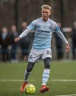 FODBOLD: Søren Henriksen (FC Helsingør) under træningskampen mellem FC Helsingør og Falkenbergs FF den 20. januar 2018 på Snekkersten Idrætscenter. Foto: Claus Birch