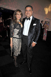 MIKE & SONAL JATANIA at The Butterfly Ball in aid of the Caudwell Children Charity held in Battersea park, London on 14th May 2009.