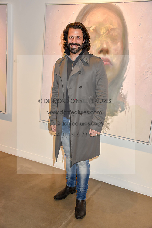 12 December 2019 - Christian Vit at a private view of Lethe by Henrik Uldalen at JD Malat Gallery. 30 Davies Street, London.<br /> <br /> Photo by Dominic O'Neill/Desmond O'Neill Features Ltd.  +44(0)1306 731608  www.donfeatures.com