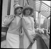 British Knitwear Fashion Show at the Hibernian Hotel.<br /> 18.04.1961