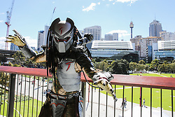 September 29, 2018 - Sydney, NSW, Australia - Cosplay Fans Attend Oz Comic-Con Sydney  (Credit Image: © Christopher Khoury/Australian Press via ZUMA Wire)