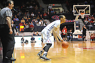"Mississippi Rebels guard Terence Smith (3) vs. Texas A&M at the C.M. ""Tad"" Smith Coliseum in Oxford, Miss. on Wednesday, February 4, 2015. (AP Photo/Oxford Eagle, Bruce Newman)"