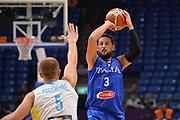 Nazionale Italiana Maschile Senior<br /> Eurobasket 2017 - Group Phase<br /> Ukraina - Italia<br /> FIP 2017<br /> Tel Aviv, 02/09/2017<br /> Foto Ciamillo - Castoria/ M.Longo