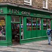 Jen Cafe in London Chinatown Sweet Tooth Cafe and Restaurant at Newport Court and Garret Street on 15 June 2019, UK.