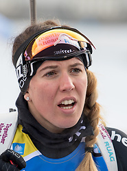 11.01.2018, Chiemgau Arena, Ruhpolding, GER, IBU Weltcup Biathlon, Ruhpolding, Einzel, Damen, im Bild Lena Landmark HAECKI (SUI) // during Ladies Individual of BMW IBU Biathlon World Cup at the Chiemgau Arena in Ruhpolding, Germany on 2018/01/11. EXPA Pictures © 2018, PhotoCredit: EXPA/ Ernst Wukits