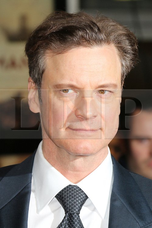 © Licensed to London News Pictures. 04/12/2013, UK. Colin Firth, The Railway Man - UK Film Premiere, Odeon West End, Leicester Square, London UK, 04 December 2013. Photo credit : Richard Goldschmidt/Piqtured/LNP