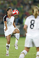 21 August 2008: Shannon Boxx (USA) (7). The United States Women's National Team defeated Brazil's Women's National Team 1-0 after extra time at the Worker's Stadium in Beijing, China in the Gold Medal match in the Women's Olympic Football tournament.