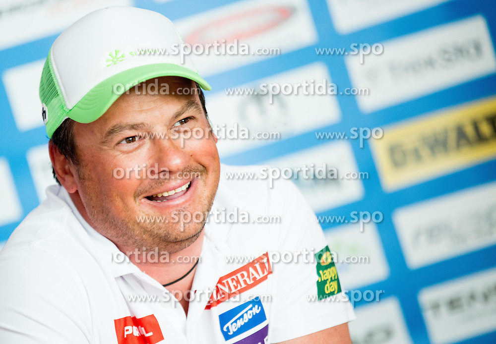 Coach Peter Pen during press conference of Slovenian Men Alpine Ski Team before new season 2016/17, on September 27, 2016 in Generali, Ljubljana, Slovenia. Photo by Vid Ponikvar / Sportida