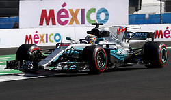 October 27, 2017 - Mexico-City, Mexico - Motorsports: FIA Formula One World Championship 2017, Grand Prix of Mexico, ..#44 Lewis Hamilton (GBR, Mercedes AMG Petronas F1 Team) (Credit Image: © Hoch Zwei via ZUMA Wire)