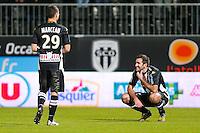 Deception Loic Guillon  - 26.01.2015 - Angers / Brest - 21eme journee de Ligue 2 -<br /> Photo : Vincent Michel / Icon Sport