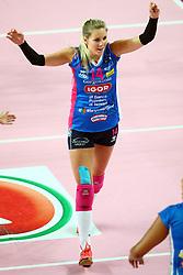 03-05-2017 ITA: Igor Gorgonzola Novara - Liu Jo Volley Modena, Novara<br /> Final playoff match 2 of 5 / Laura Dijkema #14<br /> <br /> ***NETHERLANDS ONLY***
