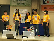 Nine schools competed in the Dream On Steam On student showcase at Northside HS, thanks to support from Capital One.