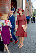 Koningin Maxima woont in de Beurs van Berlage een forum bij van het Global Impact Investing Network (GIIN). Zij doet dit in haar hoedanigheid als speciaal pleitbezorger van de secretaris-generaal van de Verenigde Naties voor inclusieve financiering voor ontwikkeling (UNSGSA).<br /> <br /> Queen Maxima attends a forum of the Global Impact Investing Network (GIIN) in the Beurs van Berlage. She does this in her capacity as special advocate of the Secretary-General of the United Nations for Inclusive Financing for Development (UNSGSA).
