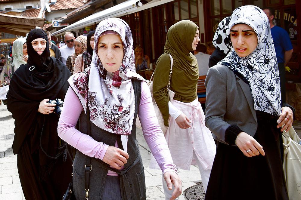 Baš? aršija in Stari Grad, Cittá Vecchia, Sarajevo, Bosnia-Erzegovina, 2012