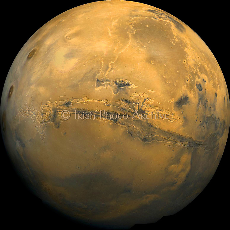 Valles Marineris. The Grand Canyon of Mars.