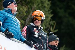 Ivica Kostelic during the Audi FIS Alpine Ski World Cup Men's Slalom 58th Vitranc Cup 2019 on March 10, 2019 in Podkoren, Kranjska Gora, Slovenia. Photo by Matic Ritonja / Sportida