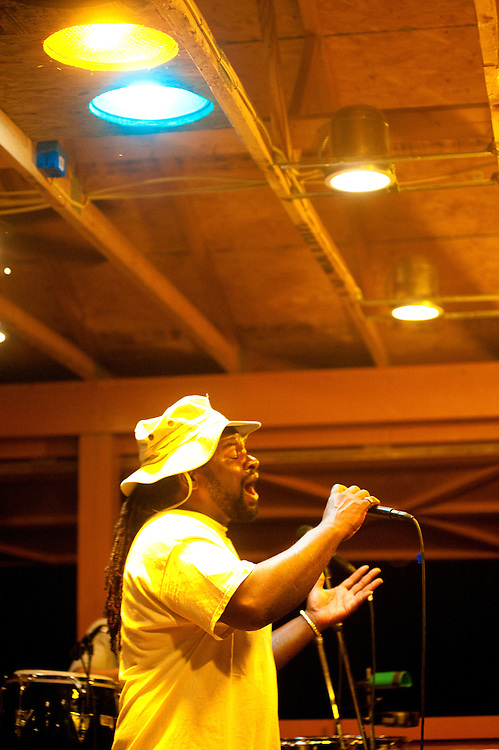 Mustabar Soulbush on the main stage