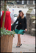 PRINCESS BEATRICE, Memorial service for Mark Shand.  . St. Paul's Knightsbridge. September 11 2014.