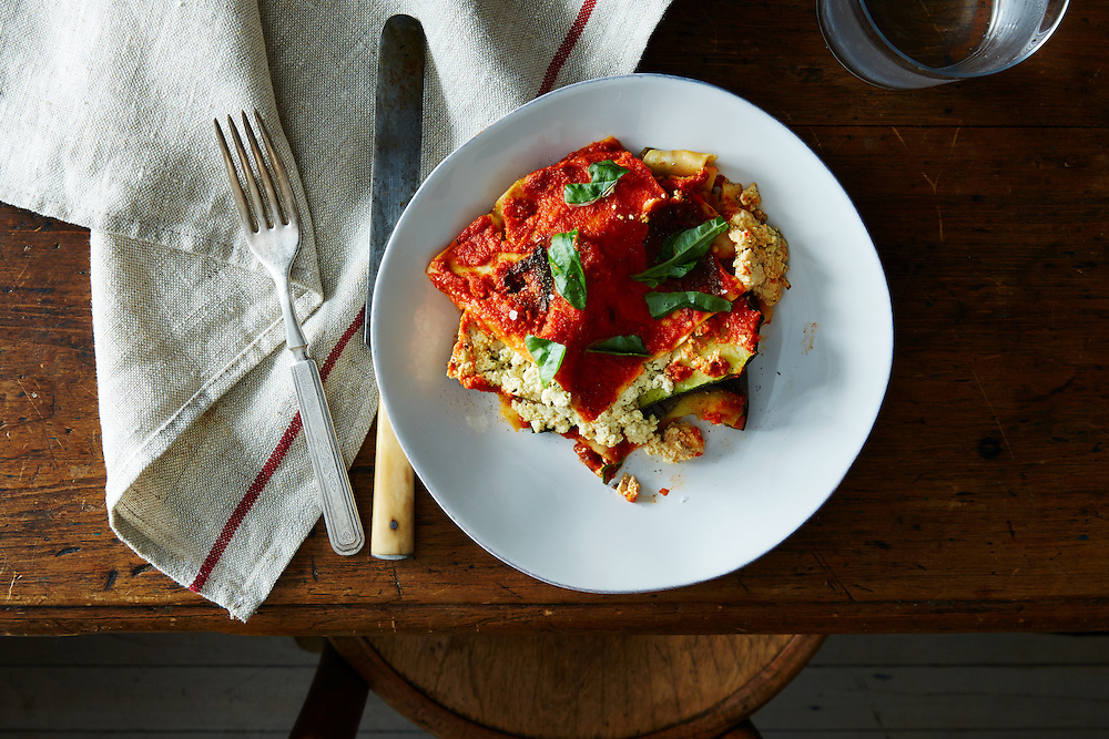 Summer vegetable Vegan Lasagne