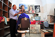 Israel, Nazareth, old style Barber Shop