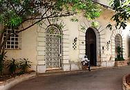 Building in Havana Vedado, Cuba.