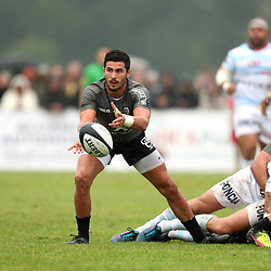 Sebastien Bezy of Toulouse during the pre-season match between Stade Toulousain Toulouse and Racing 92 at  on August 18, 2017 in Lannemezan, France. (Photo by Manuel Blondeau/Icon Sport)