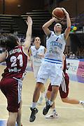 LATINA 30 GIUGNO 2012<br /> BASKET <br /> ITALIA - LETTONIA<br /> NELLA FOTO SOTTANA GIORGIA<br /> FOTO CIAMILLO