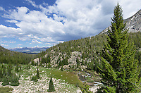 Alice Lake-Toxaway Lake Loop Trail, Sawtooth Wilderness Idaho