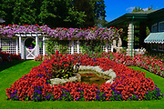 Mrs. Butchart's private garden, Butchart Gardens, Victoria, Canada
