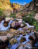 Apikuni Falls in Glacier National Park, Montana, USA