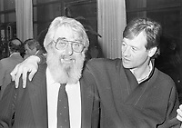 Ronnie Drew of The Dubliners at the reception in Guinness Storehouse to launch the film The Dubliner's Dublin, circa October 1988 (Part of the Independent Newspapers Ireland/NLI Collection).