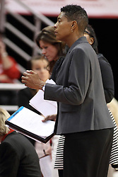 21 December 2015: Cathy Boswell. Illinois State University Women's Basketball team hosted The Cougars of Chicago State at Redbird Arena in Normal Illinois.