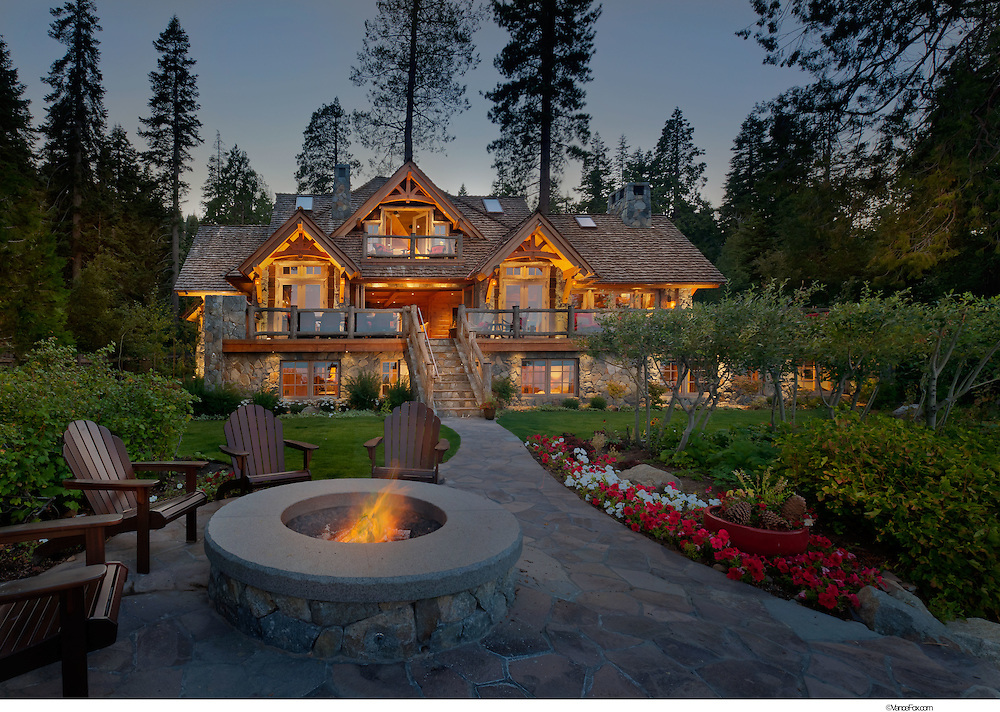 Residential Home by Olson-Olson Architects and Olson Construction, Lake Tahoe, CA
