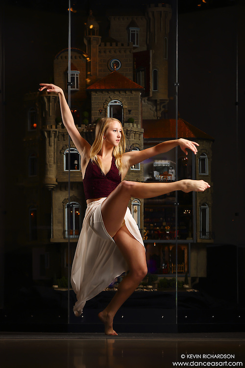 Dance As Art New York City Photography Project Astolat Castle Series with dancer, Aly McKenzie