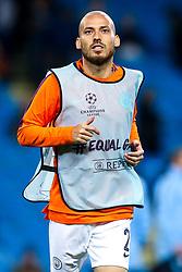 David Silva of Manchester City - Mandatory by-line: Robbie Stephenson/JMP - 19/09/2018 - FOOTBALL - Etihad Stadium - Manchester, England - Manchester City v Lyon - UEFA Champions League Group F