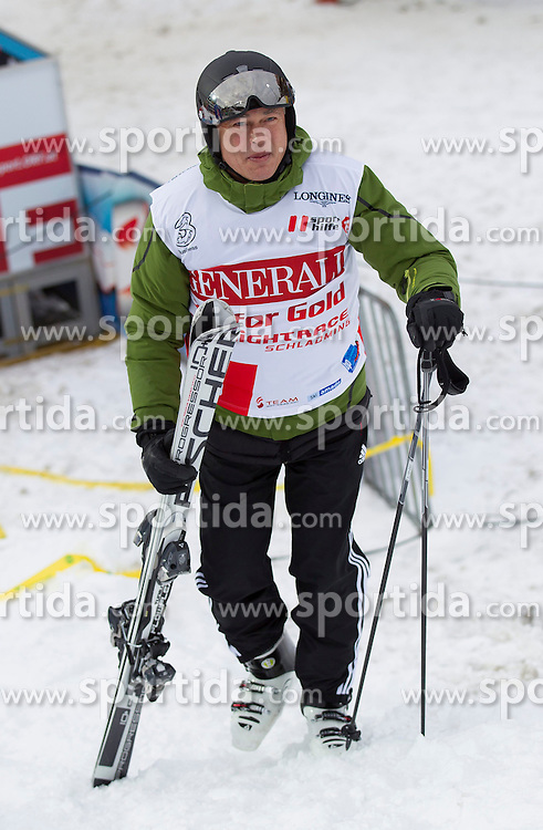 26.01.2015, Planai, Schladming, AUT, FIS Skiweltcup Alpin, Schladming, Sporthilfe Charity Promi Race, im Bild Anton Polster // Anton Polster during the Sporthilfe Charity VIP race at the Planai Course in Schladming, Austria on 2015/01/26, EXPA Pictures © 2015, PhotoCredit: EXPA/ Erwin Scheriau