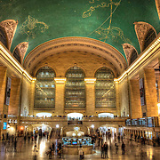 A living, bustling temple to New York's illustrious past, I love gazing at the celestial ceiling mural above the vast main concourse. <br />
