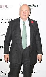 Julian Fellowes, Harper's Bazaar Women of the Year Awards, Claridge's Hotel, London UK, 05 November 2013, Photo by Richard Goldschmidt © Licensed to London News Pictures. Photo credit : Richard Goldschmidt/Piqtured/LNP