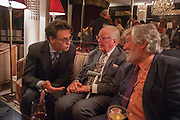 TOM GRANT; LORD HUTCHINSON; MICHAEL ANN Juliet Nicolson - book launch party for  her latest novel Abdication, about British society after the death of George V.  The Gallery at The Westbury, 37 Conduit Street, Mayfair, London, 12 June 2012