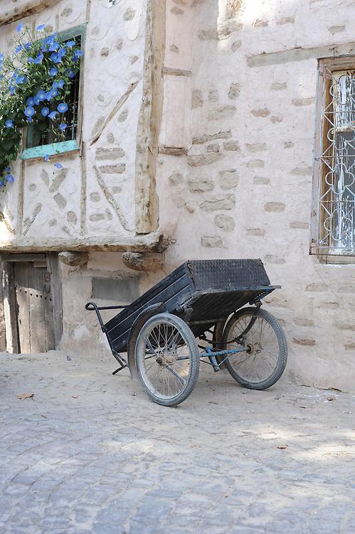 Street scape Village of Sille Turkey