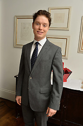FREDDIE FOX at a lunch to promote the jewellery created by Luis Miguel Howard held at Morton's, Berkeley Square, London on 20th October 2016.