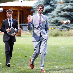 Jill Bucher and Jamie Krapohl wedding, Lyons, Colorado, August 10, 2013. Photo by Joe and Jenny Nicholson